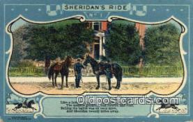 pat001196 - Patriotic, Old Vintage Antique Postcard Post Card