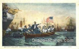 pat001198 - Patriotic, Old Vintage Antique Postcard Post Card