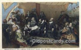 pat001203 - Patriotic, Old Vintage Antique Postcard Post Card