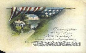 pat001209 - Patriotic, Old Vintage Antique Postcard Post Card