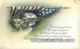 pat001210 - Patriotic, Old Vintage Antique Postcard Post Card