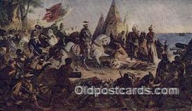 pat001225 - Patriotic, Old Vintage Antique Postcard Post Card