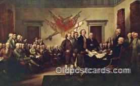 pat001231 - Patriotic, Old Vintage Antique Postcard Post Card