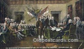 pat001244 - Patriotic, Old Vintage Antique Postcard Post Card