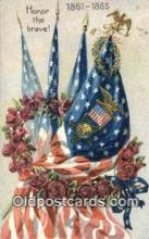 pat001251 - Patriotic, Old Vintage Antique Postcard Post Card
