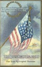 pat001261 - Patriotic, Old Vintage Antique Postcard Post Card