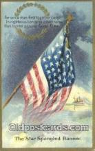 pat001262 - Patriotic, Old Vintage Antique Postcard Post Card