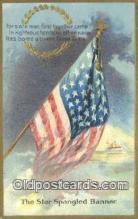 pat001263 - Patriotic, Old Vintage Antique Postcard Post Card