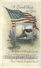 pat001266 - Patriotic, Old Vintage Antique Postcard Post Card