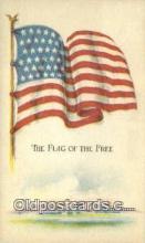 pat001269 - Patriotic, Old Vintage Antique Postcard Post Card
