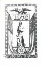pat001272 - Patriotic, Old Vintage Antique Postcard Post Card