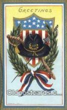 pat001277 - Patriotic, Old Vintage Antique Postcard Post Card