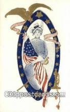 pat001282 - Patriotic, Old Vintage Antique Postcard Post Card