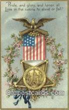 pat001284 - Patriotic, Old Vintage Antique Postcard Post Card