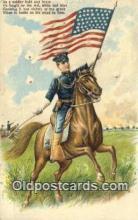 pat001294 - Patriotic, Old Vintage Antique Postcard Post Card