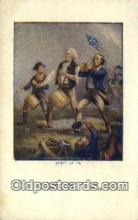 pat001298 - Patriotic, Old Vintage Antique Postcard Post Card