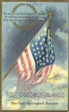 pat001302 - Patriotic, Old Vintage Antique Postcard Post Card