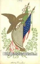 pat001303 - Patriotic, Old Vintage Antique Postcard Post Card