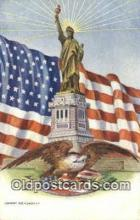 pat001307 - Patriotic, Old Vintage Antique Postcard Post Card