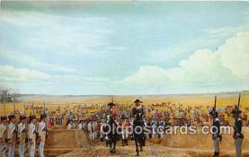 pat100002 - Surrender at Yorktown 1781 Yorktown, VA Postcard Post Card