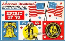 pat100009 - American Revolution Bicentennial  Postcard Post Card