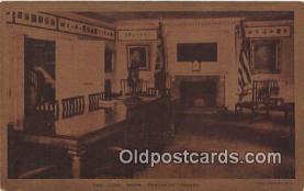 pat100011 - Long Room, Fraunces Tavern Colonel Benjamin Tallmadge Postcard Post Card