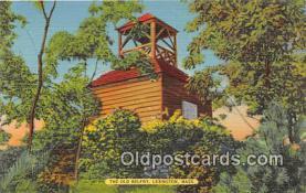 pat100014 - Old Belfry Lexington, Mass Postcard Post Card