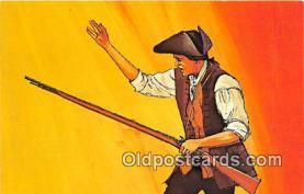 pat100035 - Battle of Bunker Hill, June 17, 1775 Boston, Massachusetts Postcard Post Card