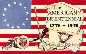 pat100036 - American Bicentennial 1776-1976  Postcard Post Card