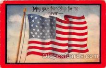 pat100056 - Flag  Postcard Post Card
