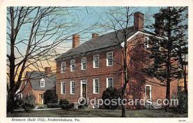 pat100060 - Kenmore 1752 Fredericksburg, VA Postcard Post Card