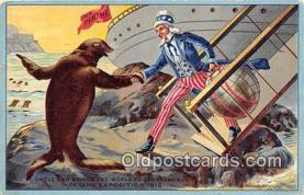 pat100071 - Uncle Sam Panama Postcard Post Card