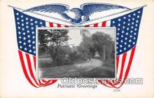 pat100083 - Patriotic Greetings  Postcard Post Card