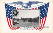 pat100087 - Patriotic Greetings  Postcard Post Card