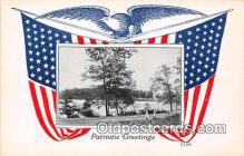 pat100092 - Patriotic Greetings  Postcard Post Card