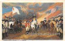 pat100115 - Surrender of Cornwallis US Capitol Postcard Post Card