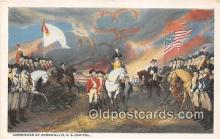 pat100116 - Surrender of Cornwallis US Capitol Postcard Post Card