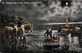 pat100121 - Paul Rever, April 19, 1775  Postcard Post Card