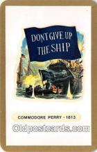 pat100127 - Commodore Perry 1813  Postcard Post Card