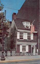 pat100142 - Betsy Ross House Philadelphia, PA Postcard Post Card