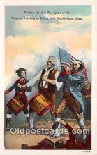 pat100152 - Yankee Doodle, Painting at Abbot Hall Marblehead, Mass Postcard Post Card