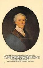 pat100161 - Charles Carroll of Carrollton 1737-1832 Maryland Historical Society, Baltimore Postcard Post Card