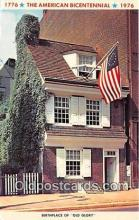 pat100181 - American Bicentennial 1776-1976 Birthplace of Old Glory Postcard Post Card