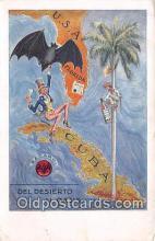 pat100192 - Del Desierto Al Oasis Bacardi Postcard Post Card