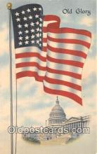 pat100203 - Old Glory  Postcard Post Card