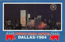 pat100214 - Republican National Convention Dallas, Texas 1984 Postcard Post Card
