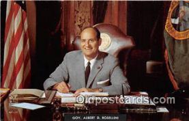 Gov Albert D Rosellini