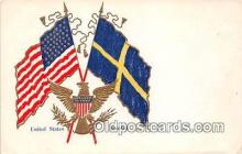pat100232 - United States Sweden Postcard Post Card