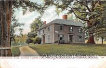 pat100234 - Munroe Taver, Earl Percy's Headquarters & Hospital, April 1775 Lexington, Mass USA Postcard Post Card