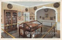 pat100238 - Dining Room, WM Lanier Washington Col Washington Headquarters Roger Morris House 1776 Postcard Post Card